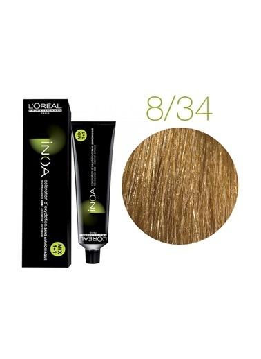 Inoa No:8,34 Saç Boyası 60 Gr Sarı